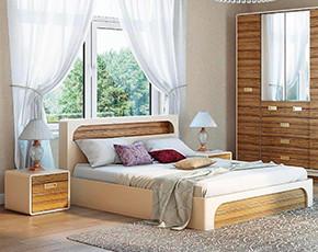 Кровать Ижмебель Терра-Люкс